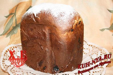пасхальный кулич в хлебопечке