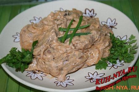 """Салат """"Строганов"""" – кулинарный рецепт"""