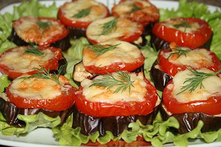 Баклажаны помидоры грибыы