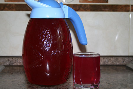 Напиток из базилика.  Приготовление. базилик фиолетовый- 3 пучка...