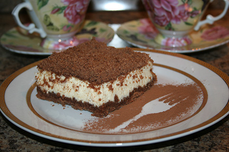 Творожный «Торфяной» пирог (Toorbakook)