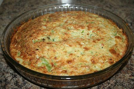 Тройной капустный пирог