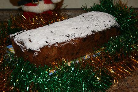 Фруктовый Рождественский кекс по-английски