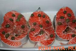Красная рыба в