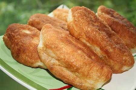 пирожки жареные с картофелем